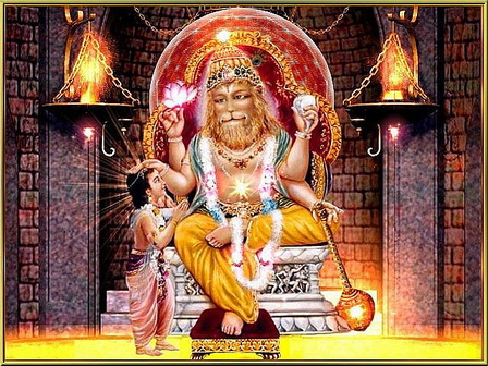 Nrisimha Devji and Prahlad.